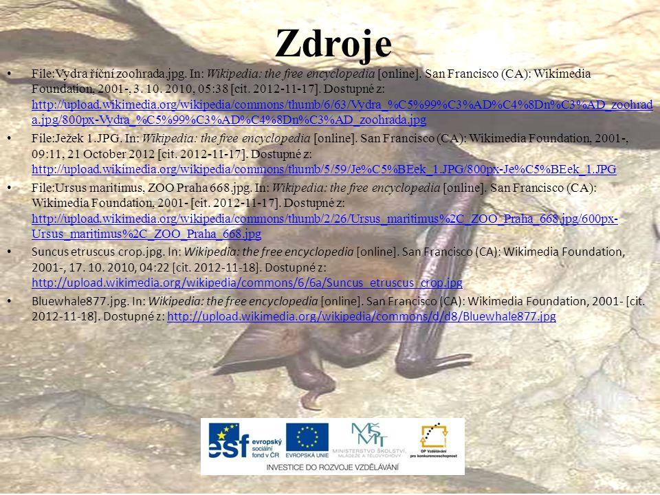 File:Vydra říční zoohrada.jpg.In: Wikipedia: the free encyclopedia [online].