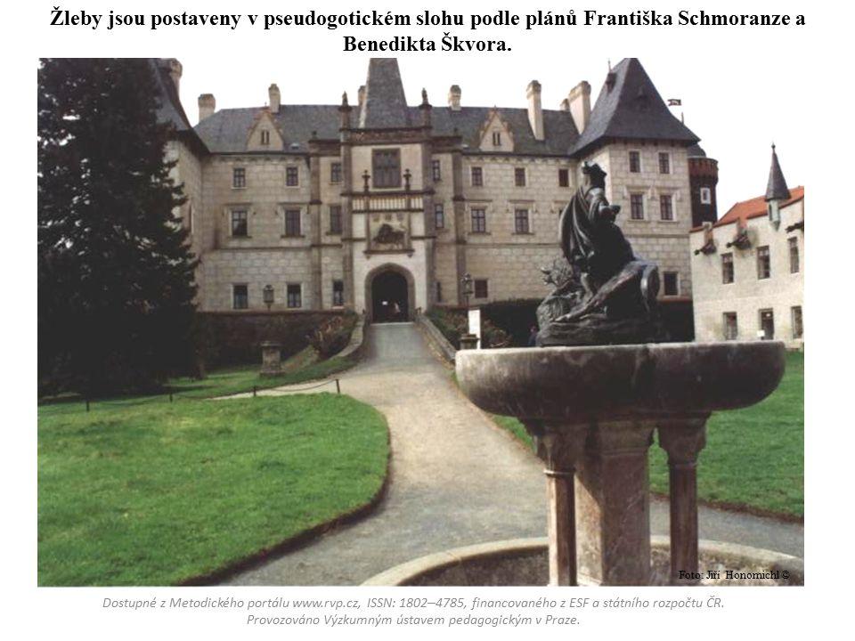 Lednice – novogotické úpravy zámku začaly v polovině 19.
