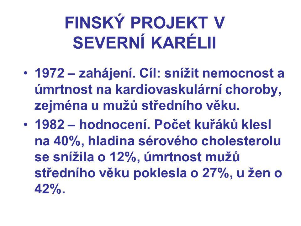 FINSKÝ PROJEKT V SEVERNÍ KARÉLII 1972 – zahájení.