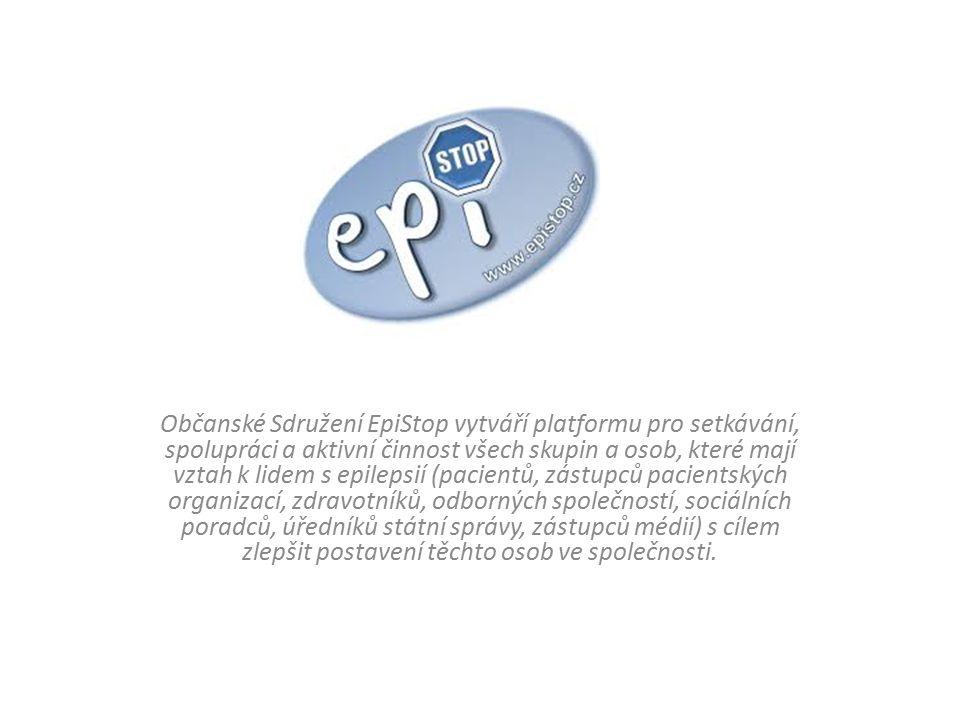 Občanské Sdružení EpiStop vytváří platformu pro setkávání, spolupráci a aktivní činnost všech skupin a osob, které mají vztah k lidem s epilepsií (pac