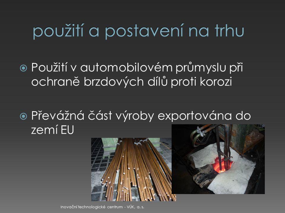  itcvuk@itcvuk.cz itcvuk@itcvuk.cz  www.itcvuk.cz www.itcvuk.cz Inovační technologické centrum - VÚK, a.