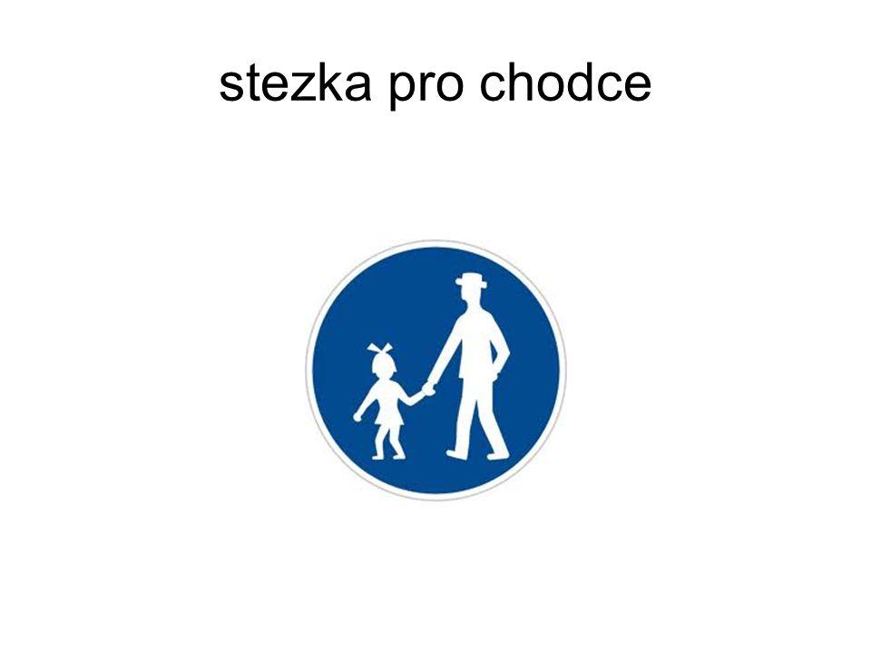 stezka pro chodce