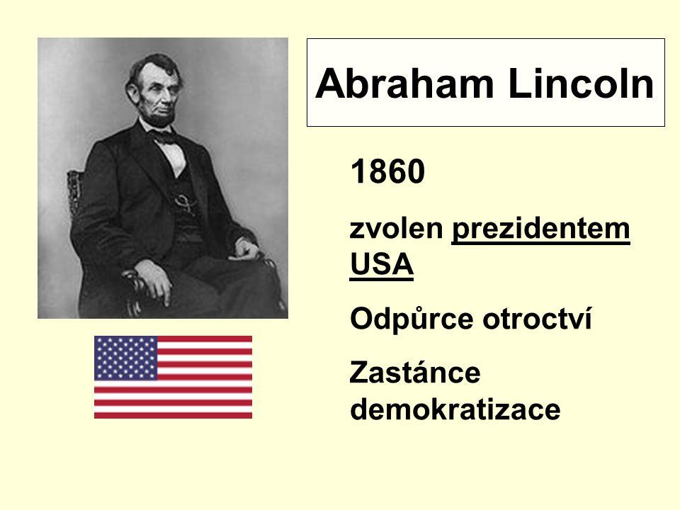 Malý test na závěr 1860 1865 1863 1861 ?