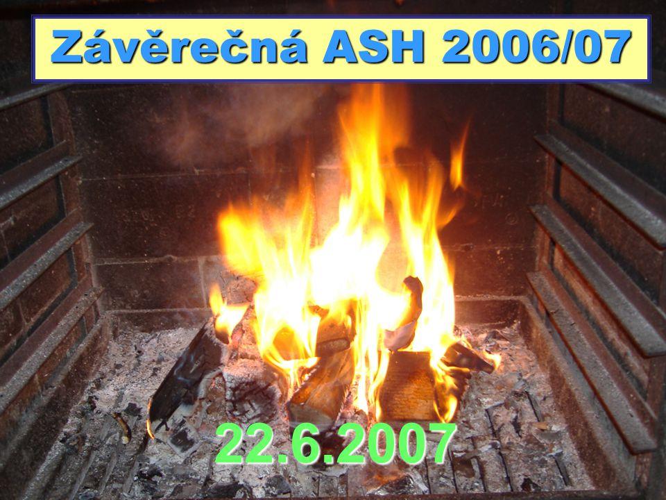 Závěrečná ASH 2006/07 22.6.2007
