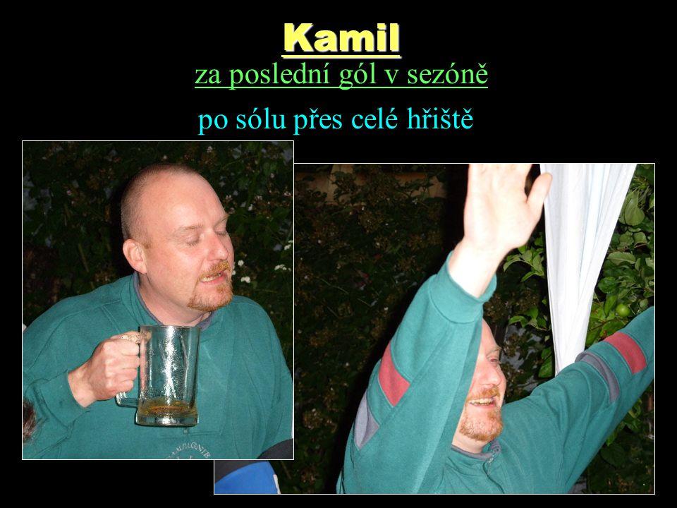 Kamil za poslední gól v sezóně po sólu přes celé hřiště