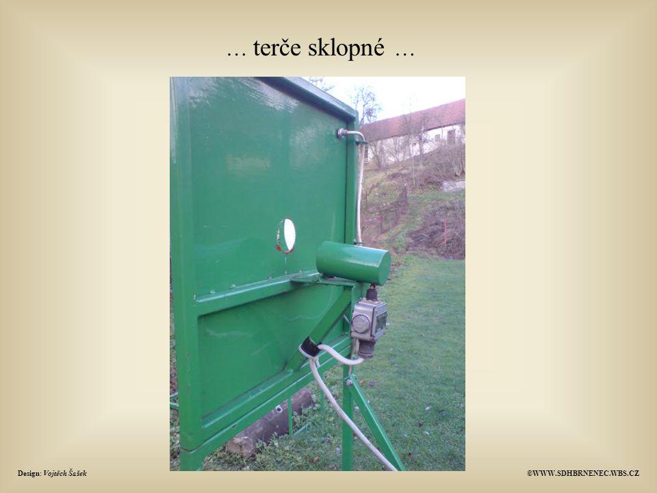 … terče sklopné … Design: Vojtěch Šašek©WWW.SDHBRNENEC.WBS.CZ