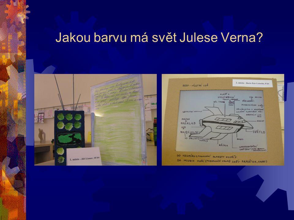 Jakou barvu má svět Julese Verna?