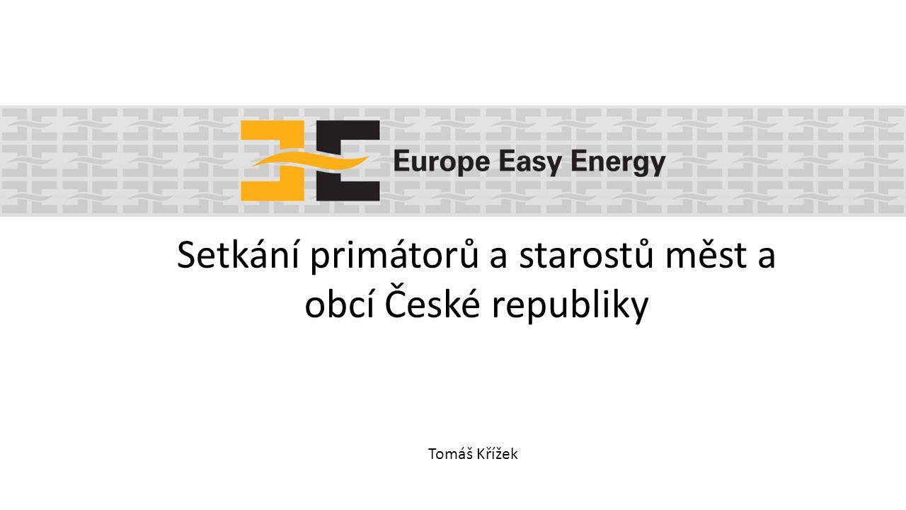 Tomáš Křížek Setkání primátorů a starostů měst a obcí České republiky