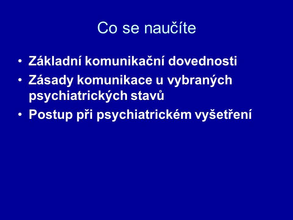 Agresivní akutně psychotický pacient Video: Management of acute psychotic patient
