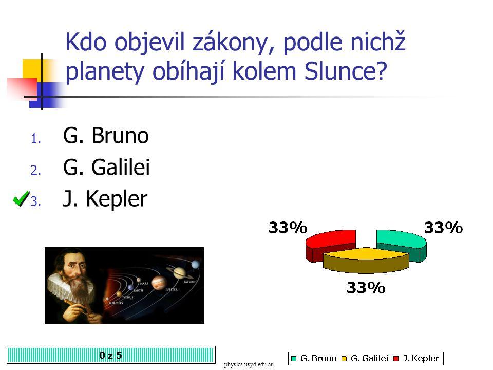M. Koperník hlásal, že Slunce obíhá kolem Země. Souhlasíte? 1. Ano 2. Ne 0 z 5 historik.webgarden.cz