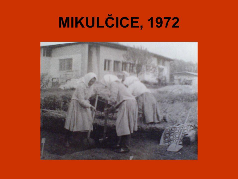 MIKULČICE, 1972