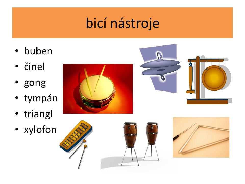 strunné hudební nástroje hraje se na ně smyčcem smyčcové na struny se drnká drnkací