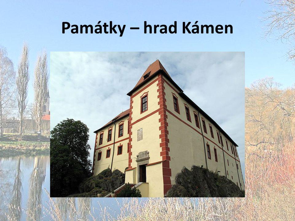 Památky – hrad Kámen