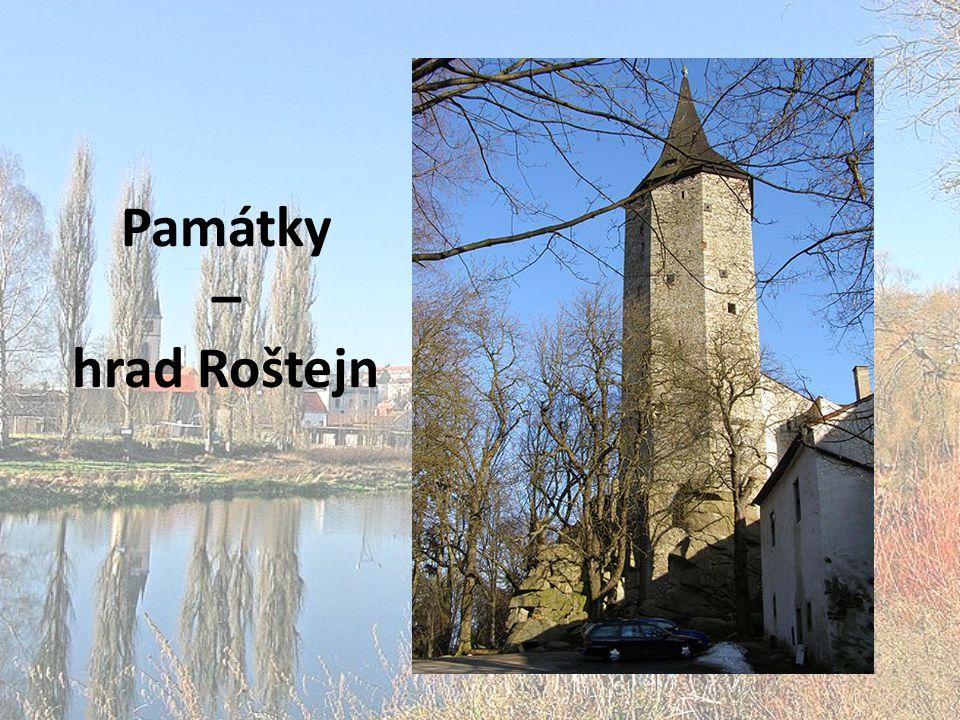 Památky – hrad Roštejn