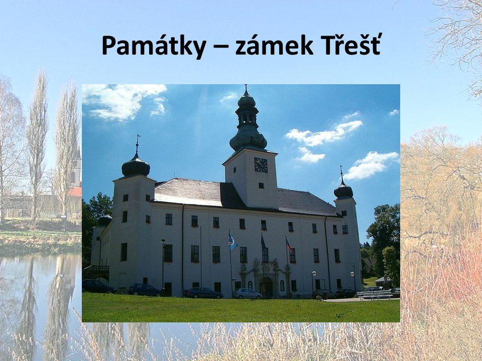 Památky – zámek Třešť