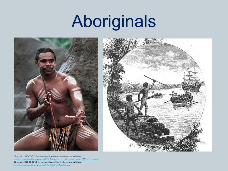 Aboriginals Zdroj: [cit. 2013-05-05].