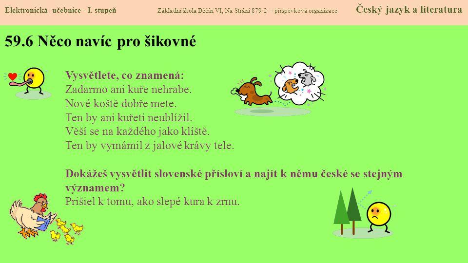 59.7 CLIL Elektronická učebnice - I.