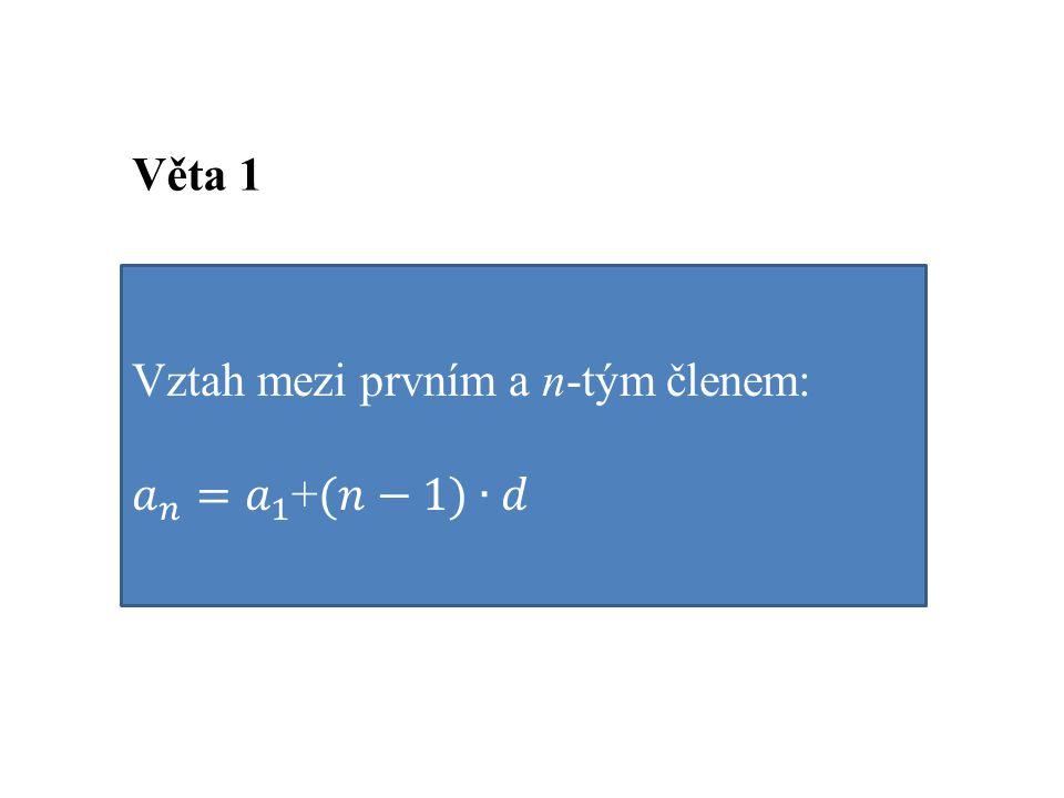 Věta 1