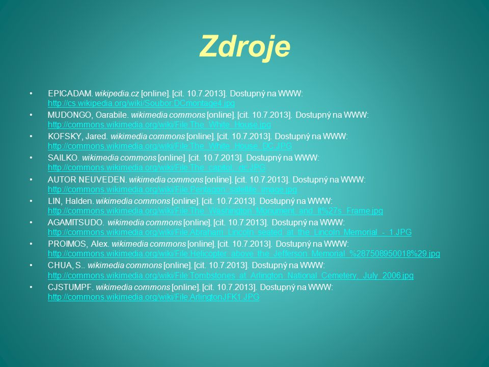 Zdroje EPICADAM. wikipedia.cz [online]. [cit. 10.7.2013].