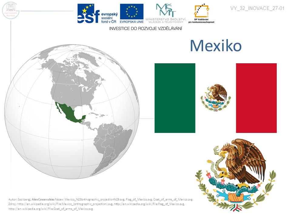 Základní charakteristiky  Stát v Severní Americe, člen NAFTA  Rozloha – 1 973 000 km 2  Počet obyvatel – 112 mil.