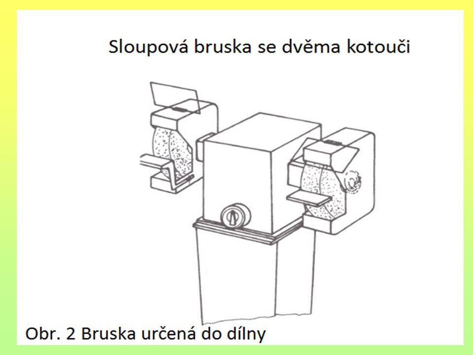 Druhy brusek K různým pracím se používají různé druhy brusek.