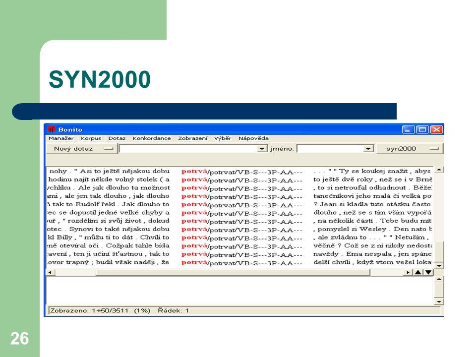 26 SYN2000
