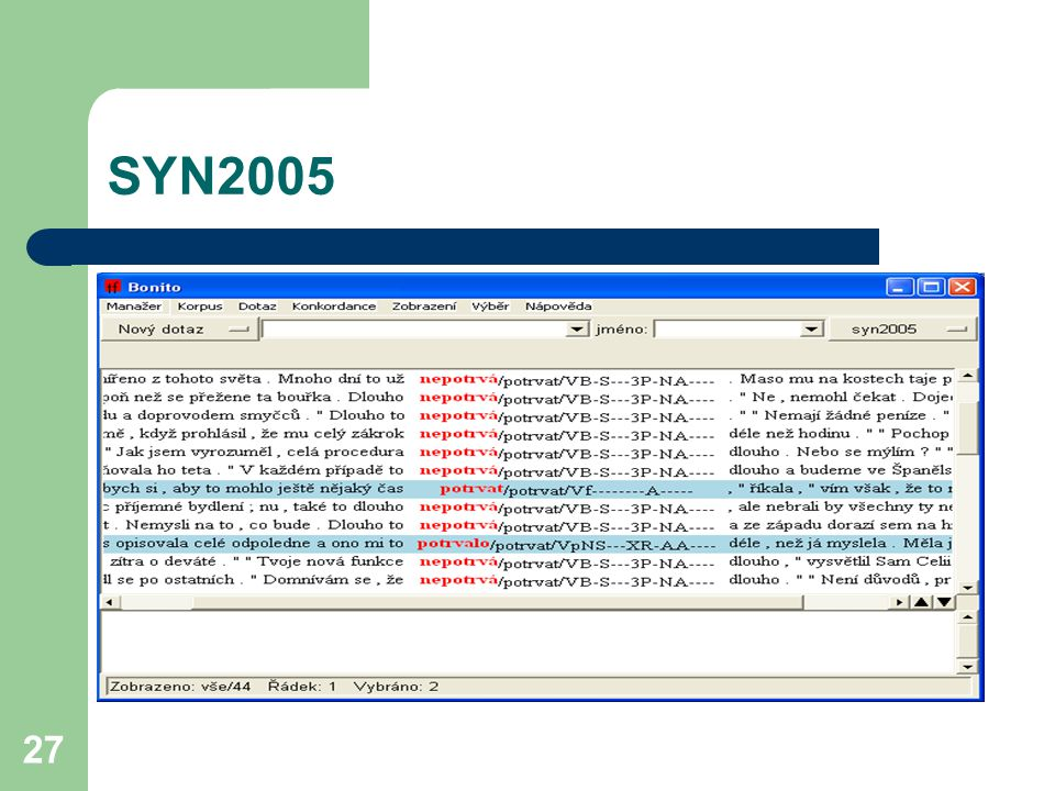 27 SYN2005