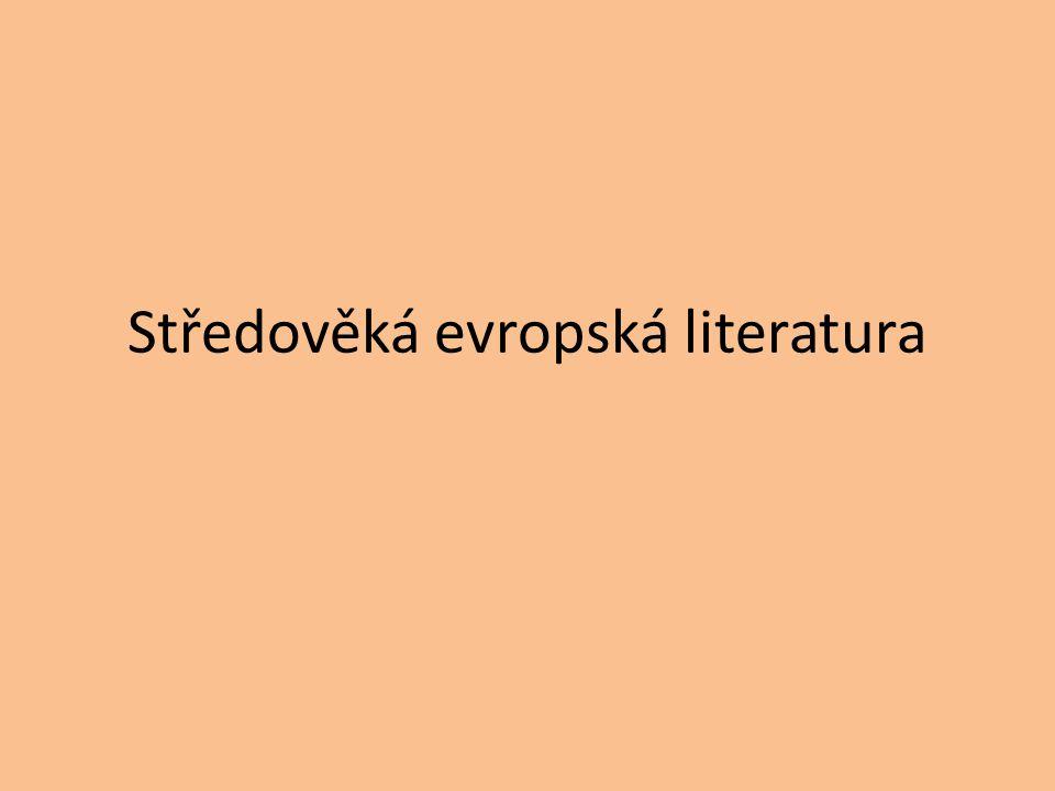 Středověká evropská literatura