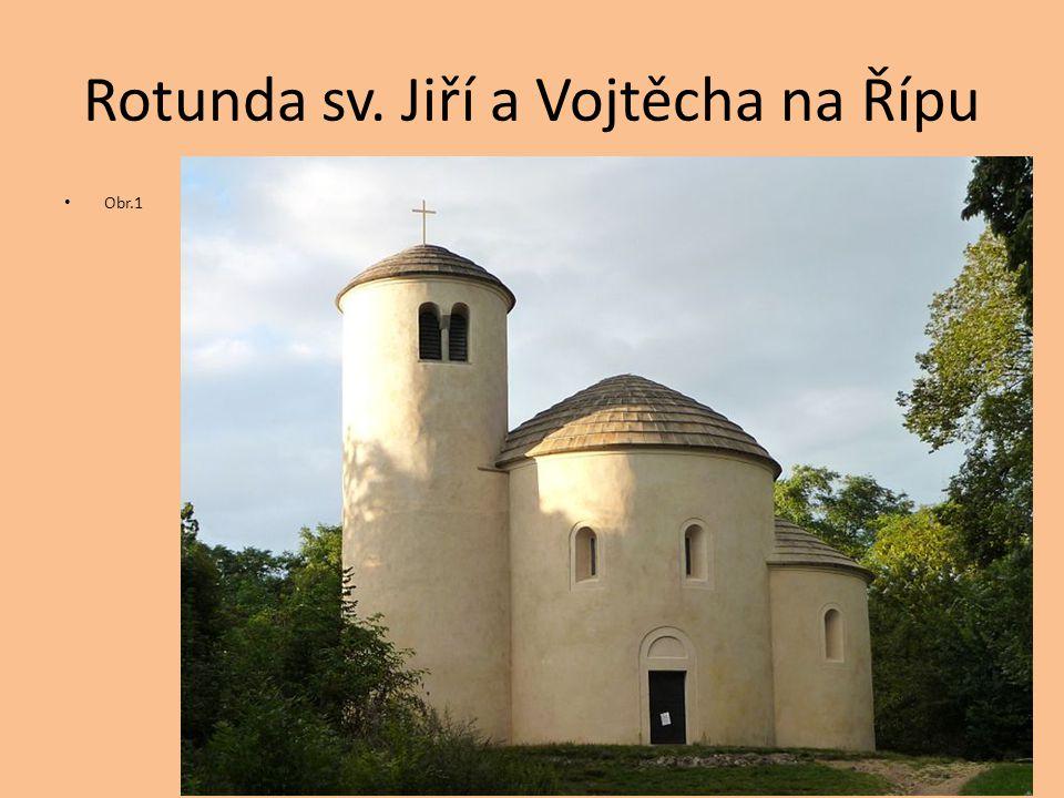 Rotunda sv. Jiří a Vojtěcha na Řípu Obr.1