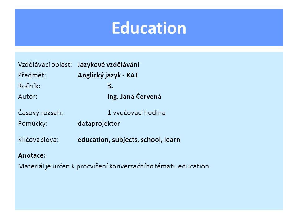 Like - dislike Question: Do you like school/going to school.