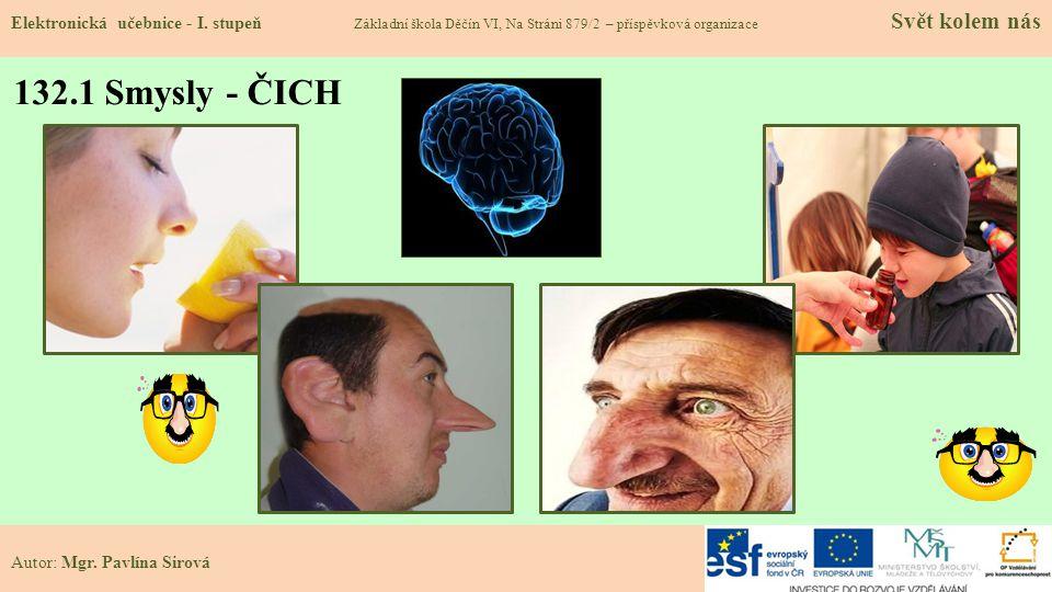 132.1 Smysly - ČICH Elektronická učebnice - I.
