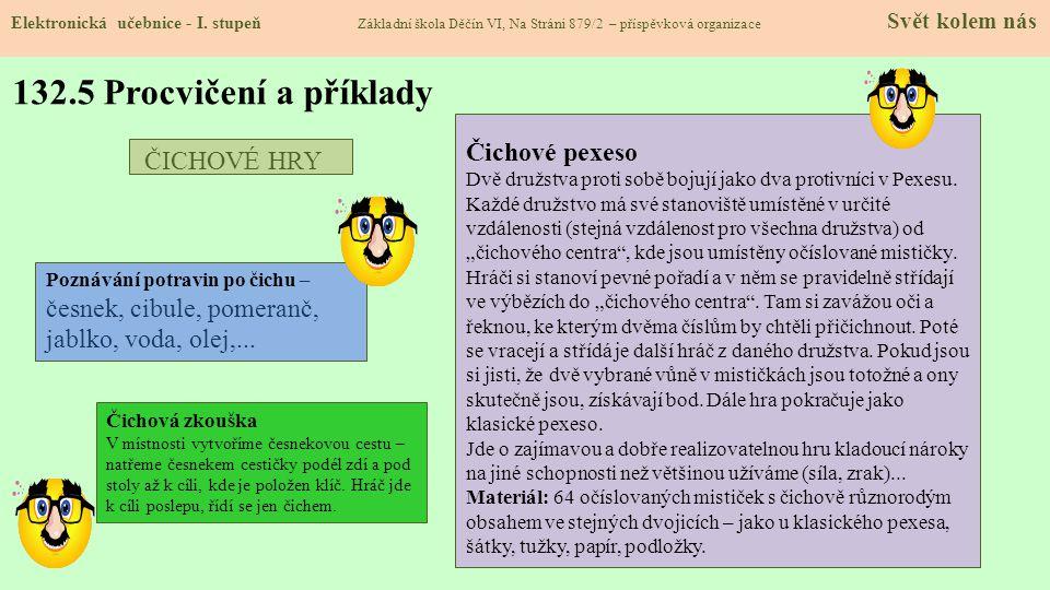 132.5 Procvičení a příklady Elektronická učebnice - I.
