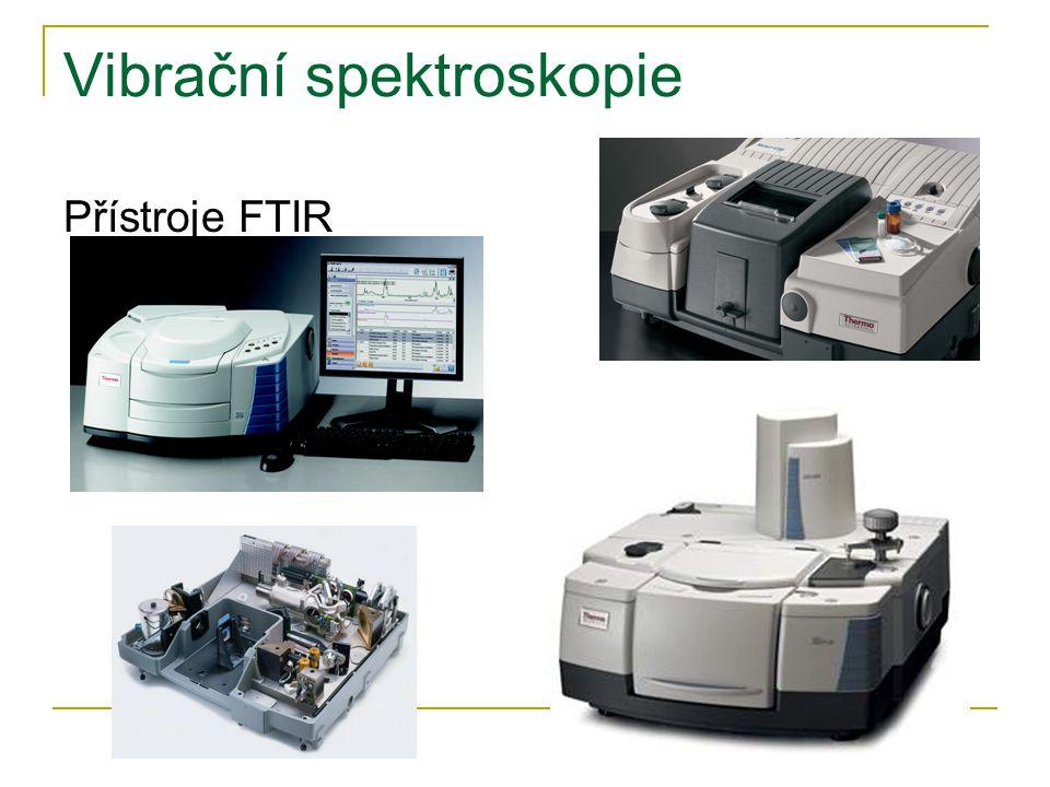 Vibrační spektroskopie Přístroje FTIR
