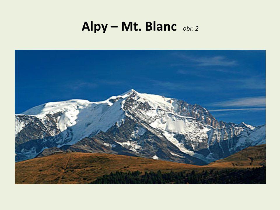 Alpy – Mt. Blanc obr. 2