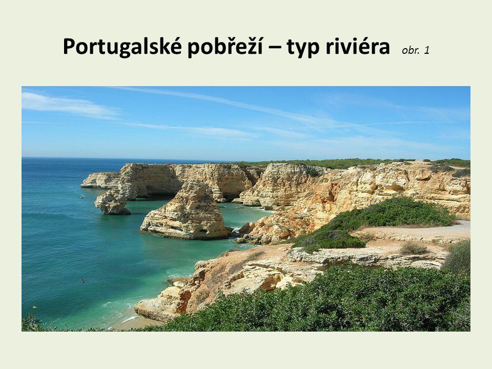 Portugalské pobřeží – typ riviéra obr. 1