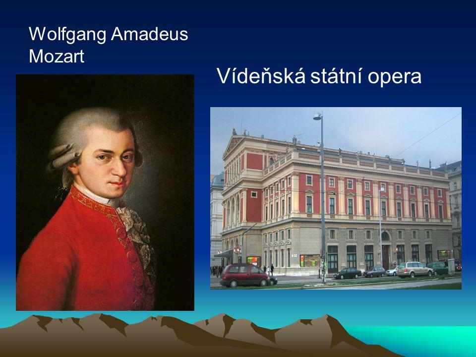 Wolfgang Amadeus Mozart Vídeňská státní opera