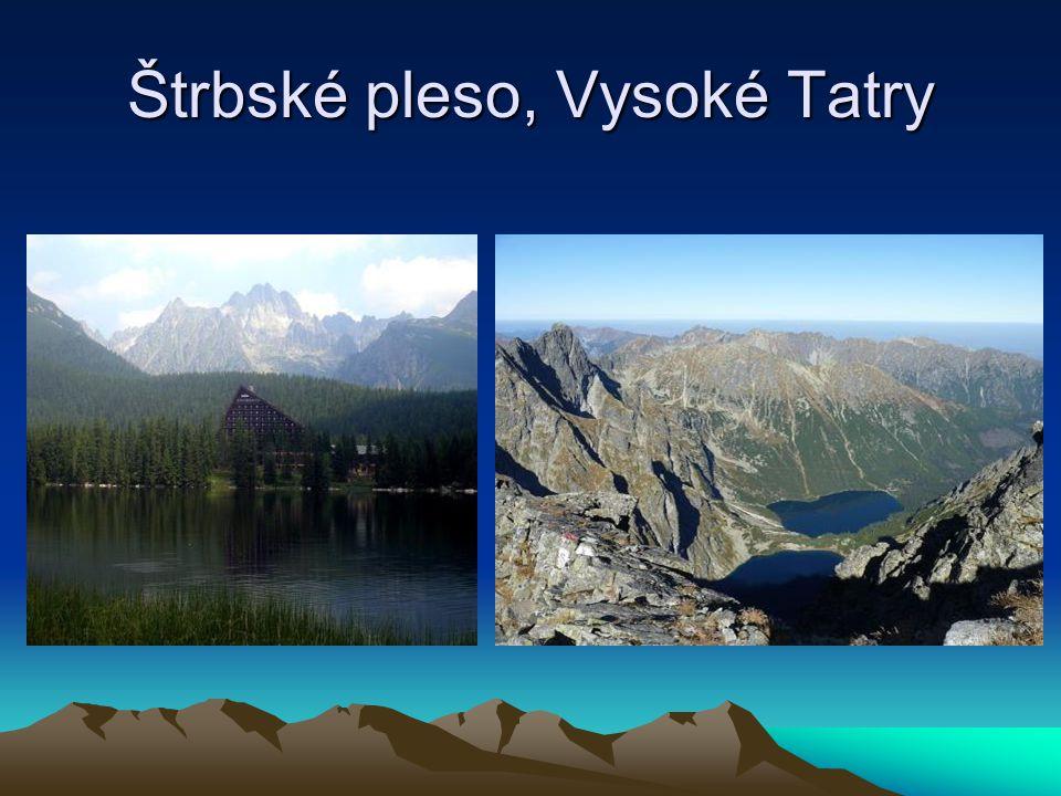 Štrbské pleso, Vysoké Tatry