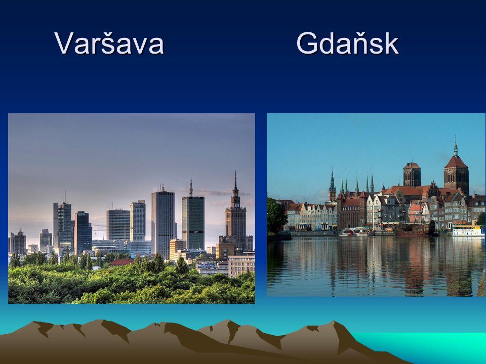 Varšava Gdaňsk Varšava Gdaňsk