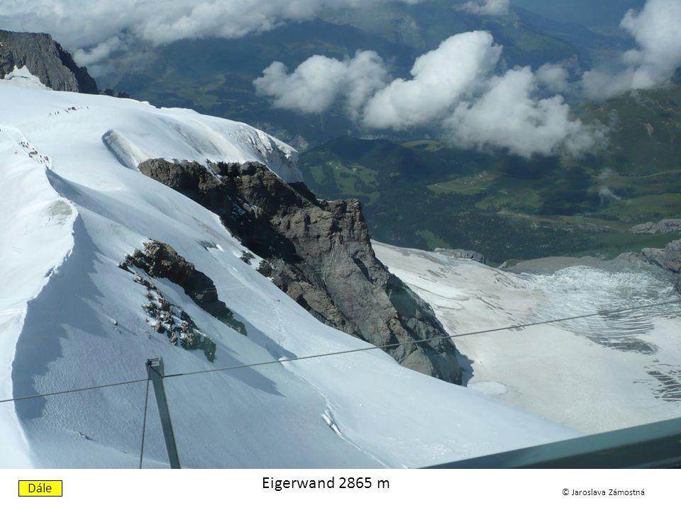 Kleine Scheidegg 2061 m Dále © Jaroslava Zámostná