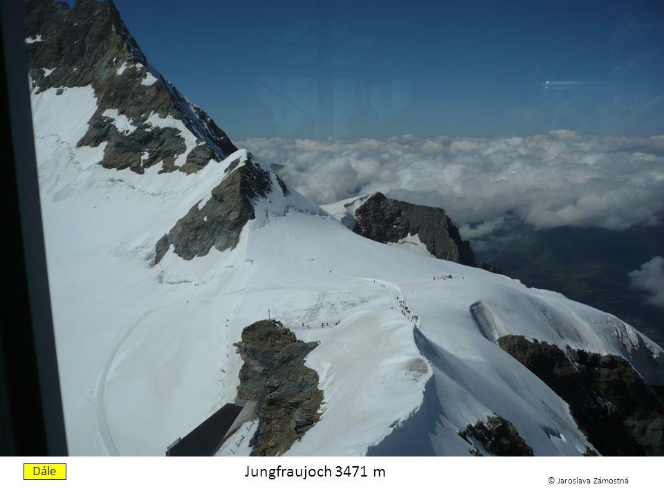 Eigerwand 2865 m Dále © Jaroslava Zámostná