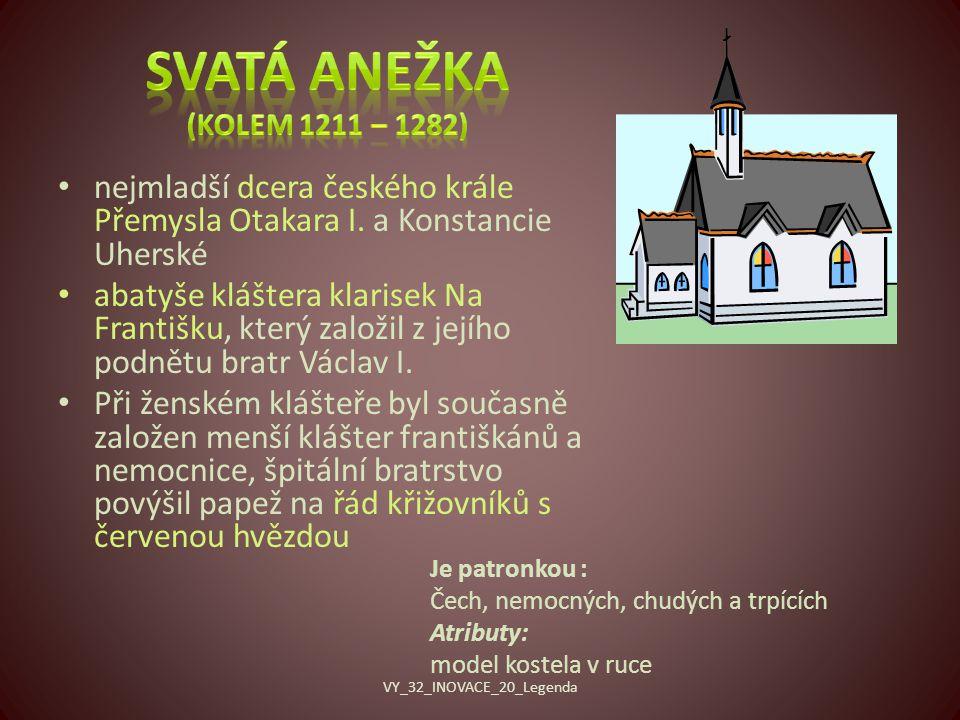 nejmladší dcera českého krále Přemysla Otakara I.