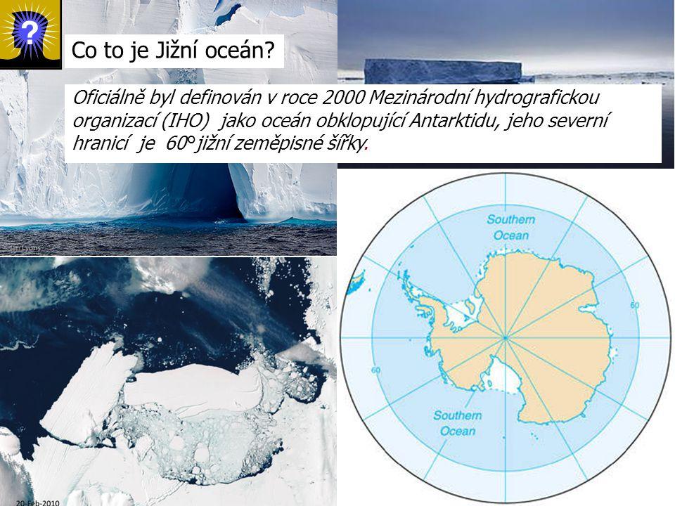 Co to je Jižní oceán.