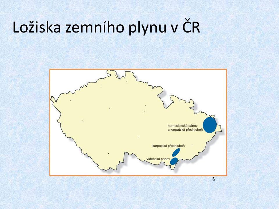 Ložiska zemního plynu v ČR 6