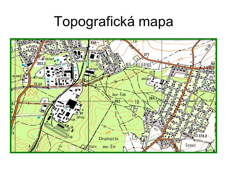 Obecně zeměpisná mapa