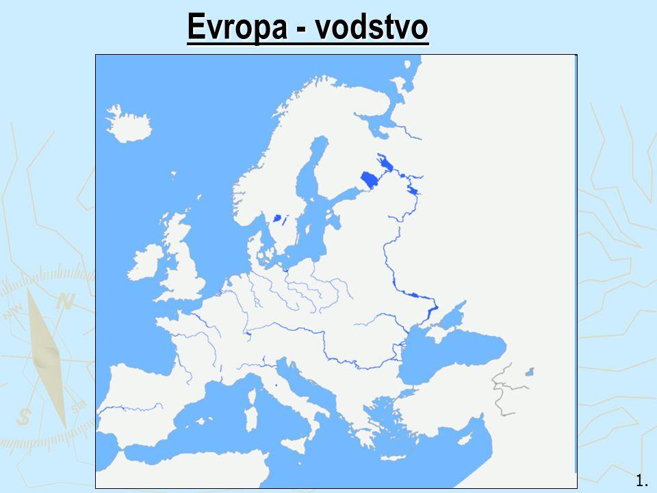 1. Evropa - vodstvo