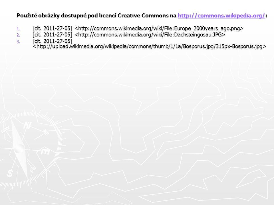 Použité obrázky dostupné pod licencí Creative Commons na http://commons.wikipedia.org/: http://commons.wikipedia.org/ 1.
