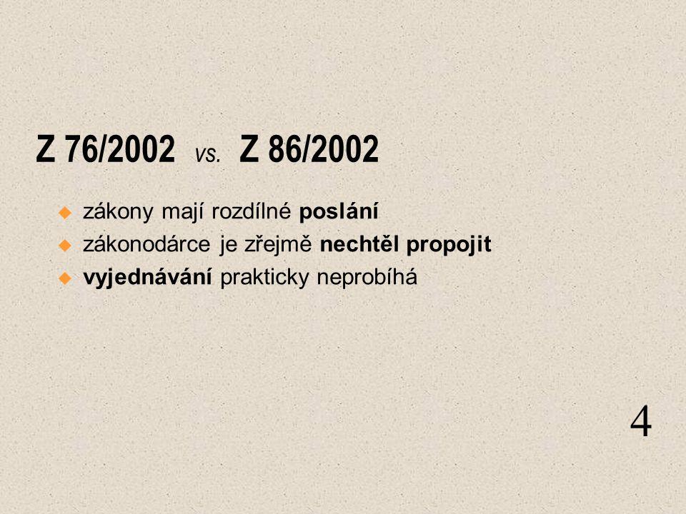 Z 76/2002 vs.