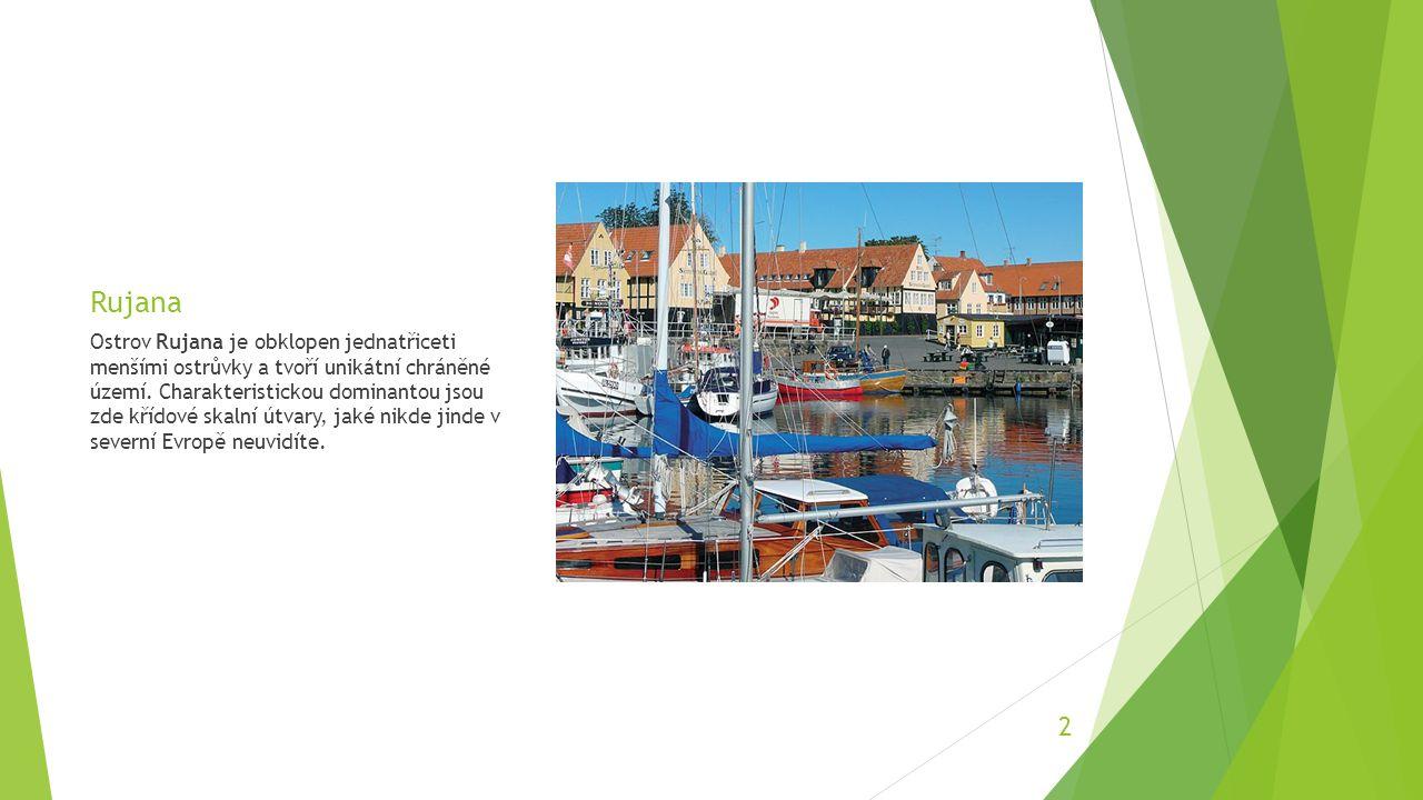 Bornholm Podle staré báje Pánbůh stvořil Skandinávii a od všeho materiálu mu trochu zbylo.