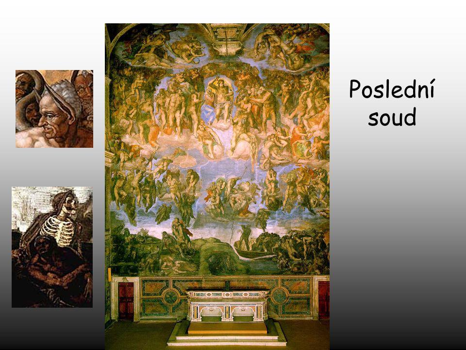 """Papež Paul VII. jej požádal, aby namaloval fresku """"Poslední soud"""", která by byla největší malbou světa té doby."""