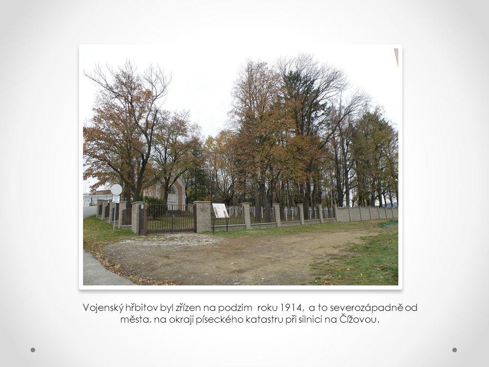 Vojenský hřbitov v Písku aneb Přijměte pozvání k návštěvě nejen expozice věnované okolnostem vzniku a historii zdejšího vojenského hřbitova, ale také